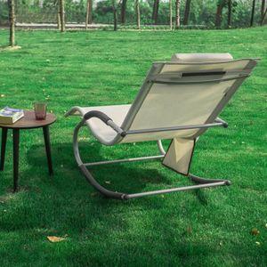 chaise bascule de jardin achat vente chaise bascule de jardin pas cher black friday le 24. Black Bedroom Furniture Sets. Home Design Ideas