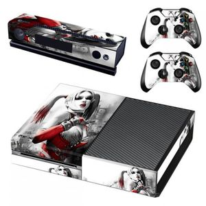 Sticker Decal Autocollant Xbox One Dc Harley Quinn Graphique