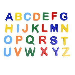 STICKERS 26pcs aimant coloré lettre alphabet nombre autocol