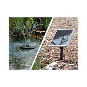 fontaine solaire de bassin achat vente fontaine solaire de bassin pas cher cdiscount. Black Bedroom Furniture Sets. Home Design Ideas