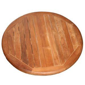 plateau de table rond 60 cm achat vente plateau de. Black Bedroom Furniture Sets. Home Design Ideas