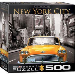 PUZZLE Eurographics Puzzle 500 Pc - New York City - Yello