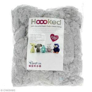 OUATE Ouate de rembourrage en coton recyclé - 250 g