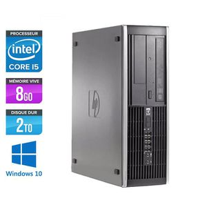 UNITÉ CENTRALE  PC HP 8100 - Core i5 - 3,2GHz -8Go -2To -Windows 1