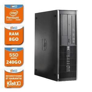 UNITÉ CENTRALE  ordinateur de bureau HP elite 6000 dual core 8go r