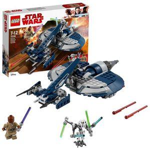 ASSEMBLAGE CONSTRUCTION Lego 75199 Star Wars Général Grievous Combat Speed