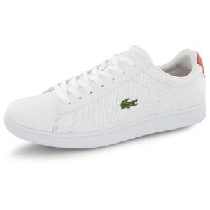 Lacoste Hommes Ampthill LCR2 Sneaker Mode Blk - blk 7 M nous 1H3GDB Taille-43 Blanc Blanc - Achat / Vente basket  - Soldes* dès le 27 juin ! Cdiscount