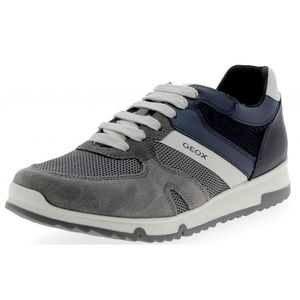CHAUSSON - PANTOUFLE Geox - Geox Wilmer Chaussures de Sport Homme Gris