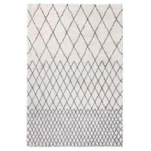 TAPIS Tapis Agadir Motifs Berbères Ivoire - 160 x 230 cm