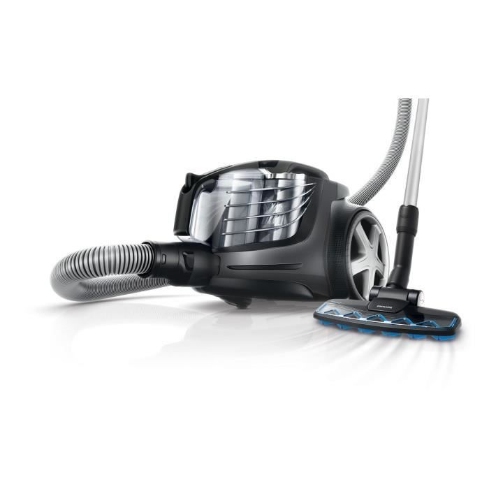 PHILIPS FC9921/09 POWER PRO ULTIMATE Aspirateur sans sac - Titane