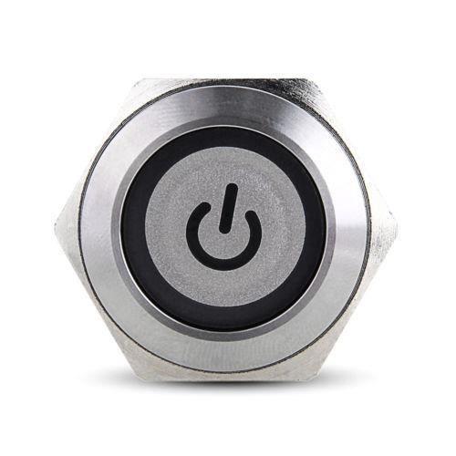 Interrupteur etanche 12v achat vente interrupteur etanche 12v pas cher cdiscount - Bouton poussoir interrupteur ...