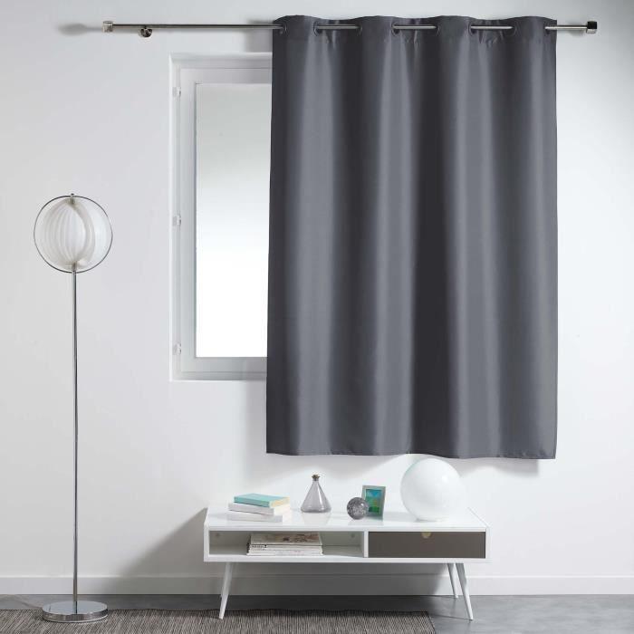 rideaux pour petite fenetre achat vente rideaux pour petite fenetre pas cher cdiscount. Black Bedroom Furniture Sets. Home Design Ideas