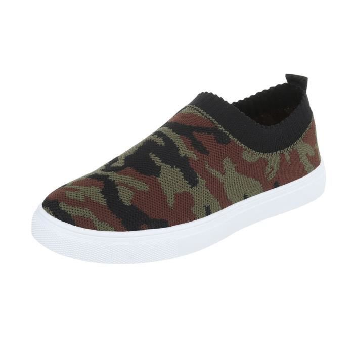 Chaussures femme chaussures sportSneakers vert Multi 41 Lx3LH7jF