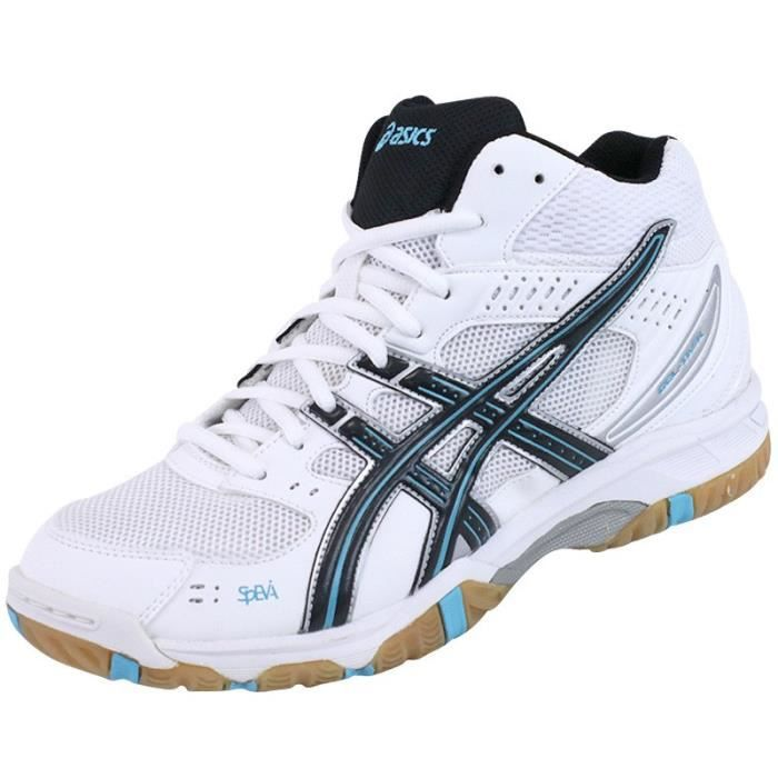 buy online 04a06 700d7 CHAUSSURES MULTISPORT Chaussures Gel Task Montante Blanc Volley-Ball Hom