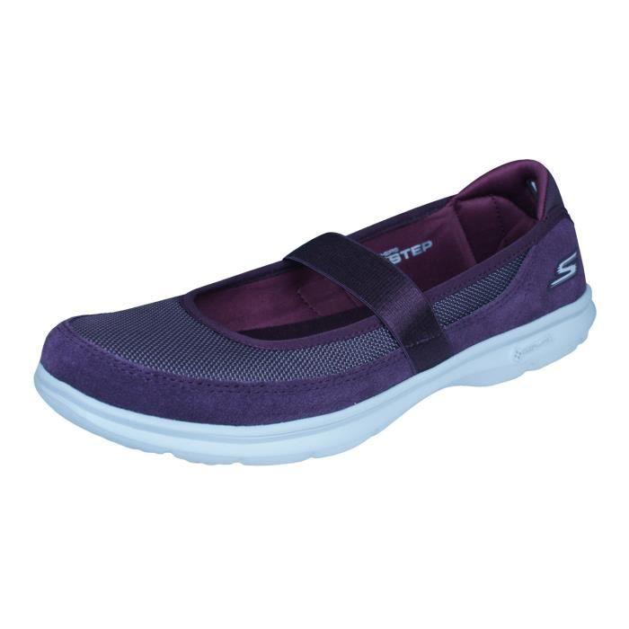 De Step 6 Chaussures Skechers Pour Femme 5 Marche Go Bourgogne Snap vw8nONm0