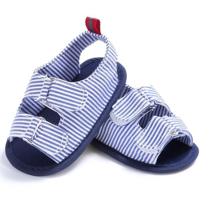 BOTTE Bébé Nourrissons Enfants Fille garçons Doux Sole Crib Toddler Nouveau-Né Sandales Chaussures@BleuHM