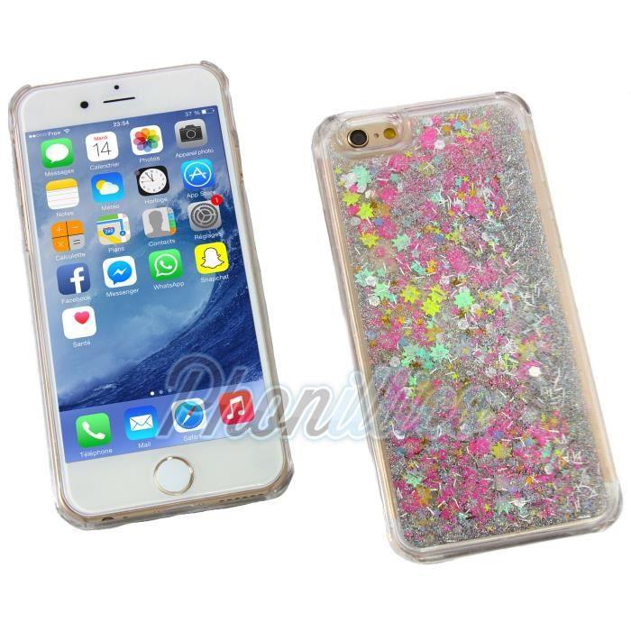coque iphone 6 bumper paillettes