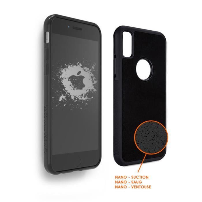 coque anti gravite iphone x
