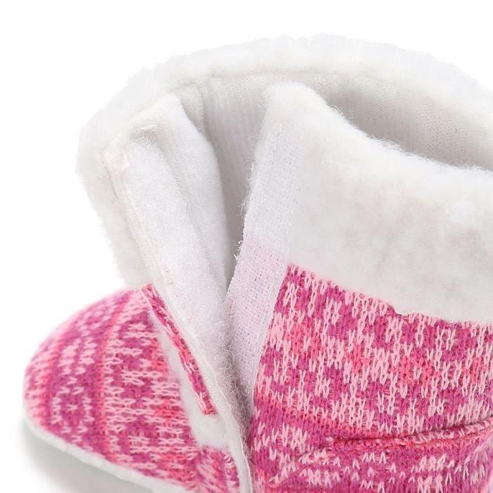bébé bambin bébé fille neige bottes semelle molle prémarcheur berceau chaussures rose li0YV03Z