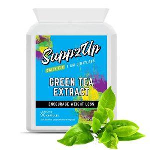 COMPLÉMENT MINCEUR L'extrait de thé vert Suppzup 12,480 mg 90 capsule