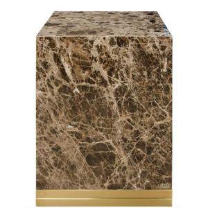 TABLE D'APPOINT Casa Padrino table d'appoint avec marbre noir-gris