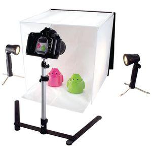 KIT STUDIO PHOTO KONIG KN-STUDIO10NUK Mini Studio Photo pliable 40