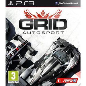 JEU PS3 GRID Autosport PS3