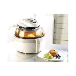 FRITEUSE ELECTRIQUE Friteuse électrique à air chaud 1000 W blanc