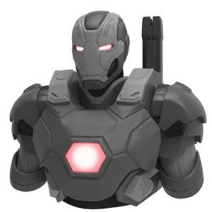 TIRELIRE Tirelire Marvel War Machine Mark III Gris