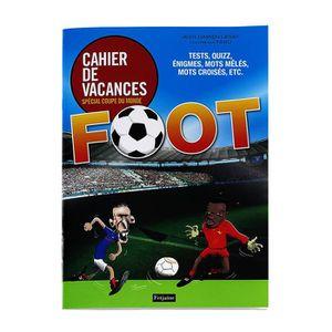 LIVRE SPORT idée cadeau: Cahier de jeux spécial foot