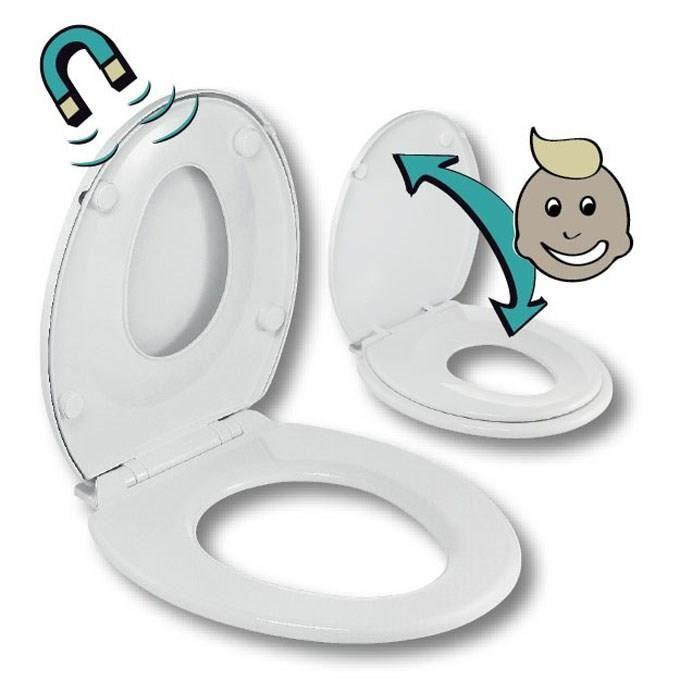 Abattant wc enfant achat vente abattant wc enfant pas cher cdiscount - Abattant wc pas cher ...