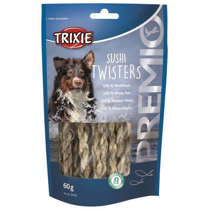 TRIXIE Sushi Twisters Premio - Pour chien - 60g