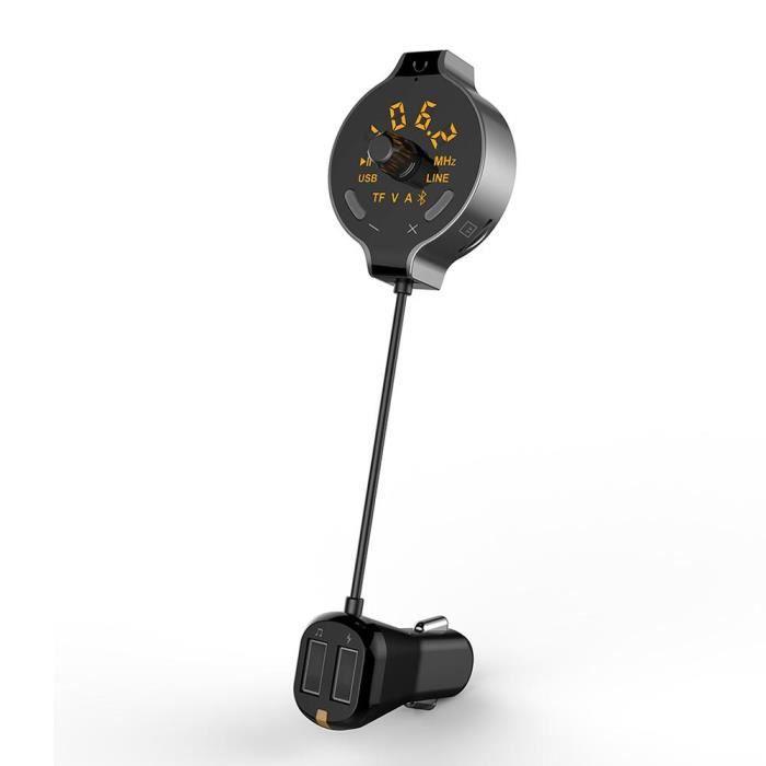 TRANSMETTEUR FM DE VOITURE Adaptateur Bluetooth de Voiture