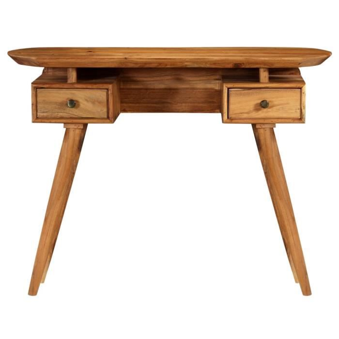 Ovsky Table Console Table D Appoint Bois D Acacia Massif