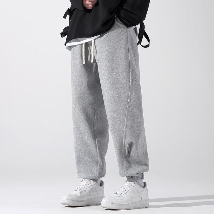 élastique Jogging Homme bas Stretch Pantalon Coupe Casual de Droit élastique en jambes taille Sport Style de Pantalon RS1nq