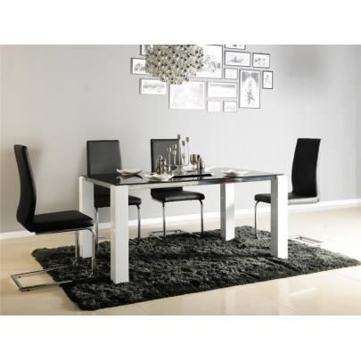 Table A Manger Seule Table A Manger Irene  Couverts Verre Trempe E