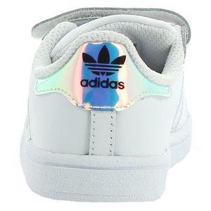 online retailer bdae1 95e34 Chaussures Sport Superstar Blanc Adidas Cf I De Fille tHRzwq18