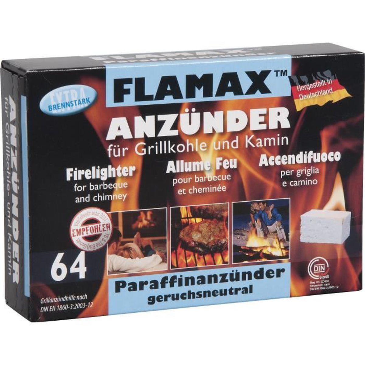allume-feu barbecue et cheminée - 64 pièces - achat / vente allume