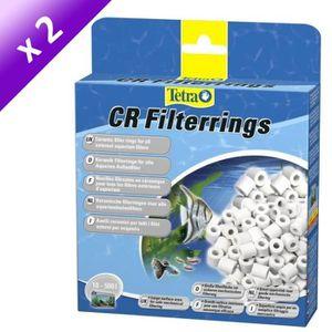 Lot de 2 - TETRA Nouilles céramiques CR 800 ml pour filtres extérieurs