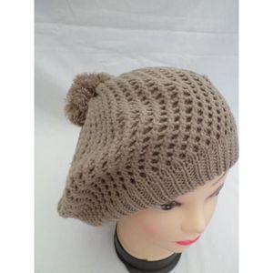 bonnet beret femme achat vente bonnet beret femme pas cher black friday le 24 11 cdiscount. Black Bedroom Furniture Sets. Home Design Ideas