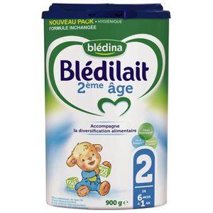LAIT BÉBÉ BLEDINA Blédilait Lait en poudre - 2ème Age 6 mois