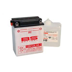 BATTERIE VÉHICULE Batterie BS BATTERY 12N12A-4A-1 conventionnelle li