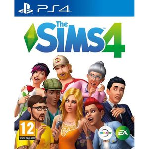 JEU PS4 Sims 4 Jeu PS4 + 1 Porte Clé