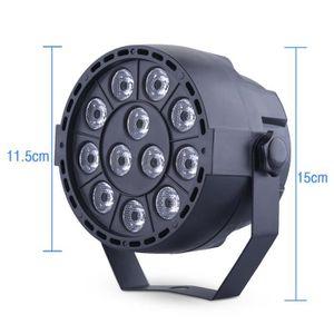 LAMPE ET SPOT DE SCÈNE 15W 12 LED Tête Mobile Lampe de Disco Lampe et Spo
