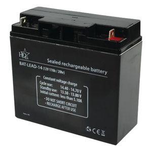BATTERIE MACHINE OUTIL HQ Batterie au Plomb-acide rechargeable 12 V 17Ah