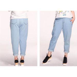 a1217e615fe9 SOLDES - Jeans Slim et Pantalons Femme - Achat   Vente SOLDES ...