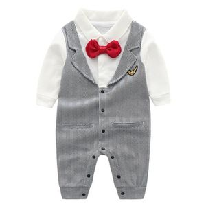 BARBOTEUSE  Barboteuse Romper Gentleman Mariage Costume Avec