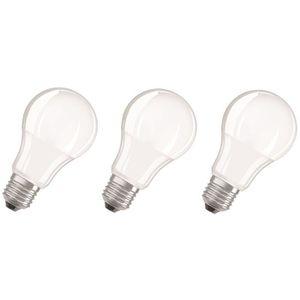 AMPOULE - LED OSRAM Lot de 3 Ampoules LED E27 standard dépolie 1