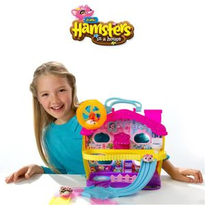 UNIVERS MINIATURE HAMSTER IN A HOUSE Playset Grande Maison Spinmaste