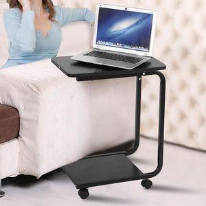 MEUBLE INFORMATIQUE Portable Bureau d'ordinateur amovible Multifonctio